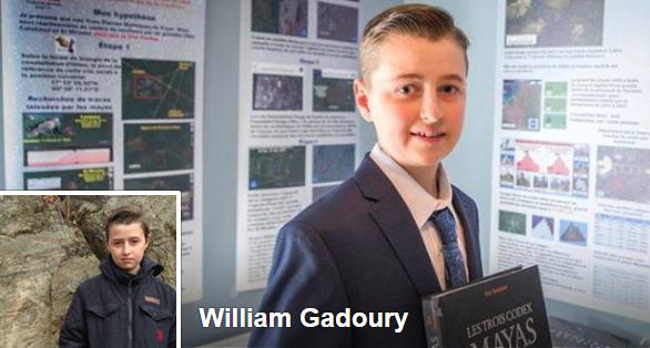 Foto de William Gadoury en su perfil de Facebook.