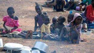 A fome e a seca que estão a assolar o sul de Angola.