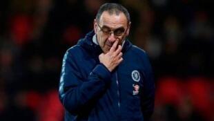 Kocin Chelsea Maurizio Sarri.
