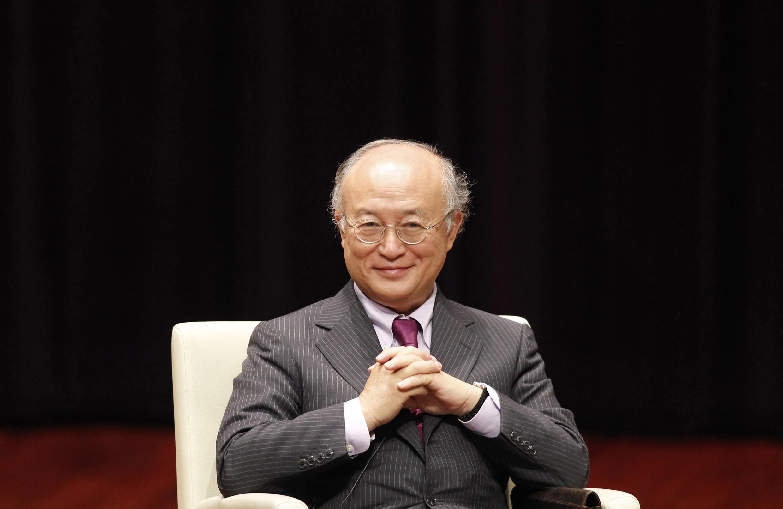 یوکیو آمانو، مدیرکل آژانس بین المللی انرژی اتمی