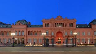 A Casa Rosada, sede da presidência da República Argentina, em Buenos Aires