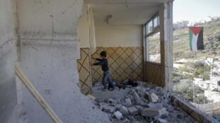 Les services de sécurité israéliens ont fait sauter l'appartement  d'Abdelrahmane Shalodi à Jérusalem-Est.