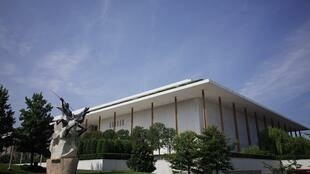 The Kennedy Center, whose performing arts complex is shown here, said it expects to lose an estimated $45.7 million in earned income during the 2020-2021 season