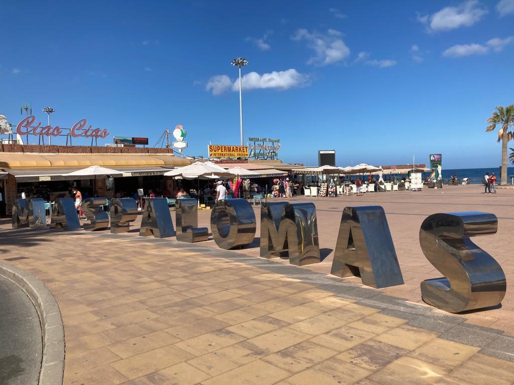 Près de Playa del Ingles à Maspalomas