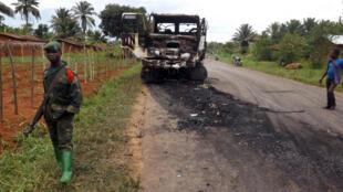 La région de Beni est régulièrement la cible d'attaques et de tueries.