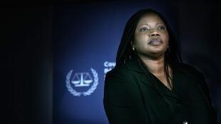 Fatou Bensouda, procureure adjointe de la Cour pénale internationale.