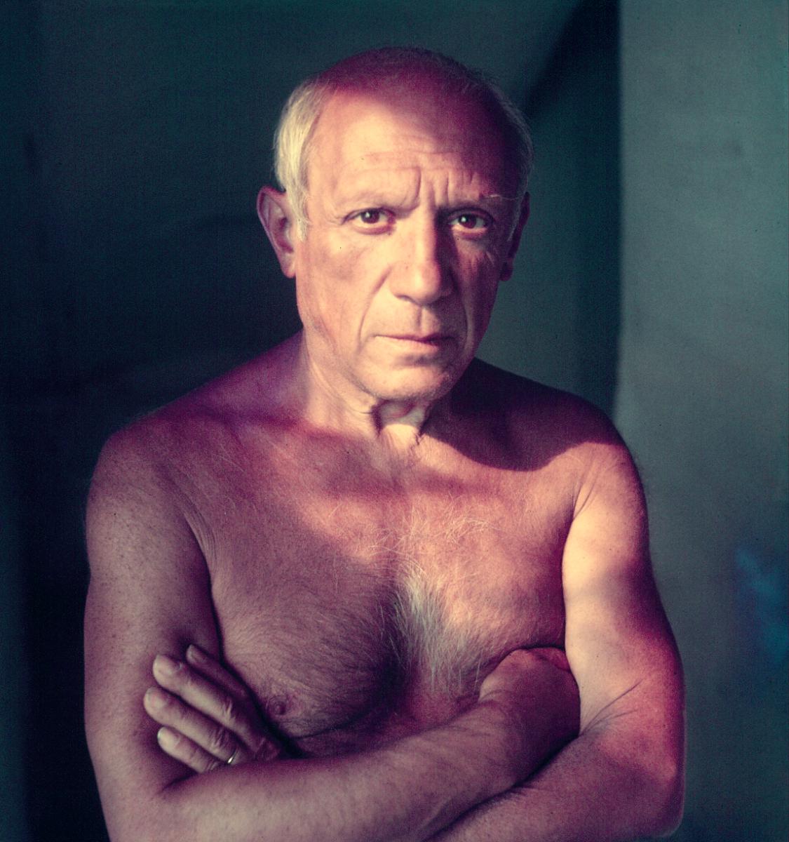 Retrato do artista Pablo Picasso, 1948.