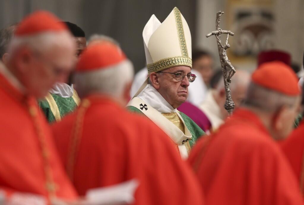 Lãnh đạo Tòa Thánh Vatican, đức giáo hoàng Phanxicô.
