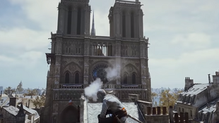 Captura de pantalla del juego Assassin's Creed Unity.