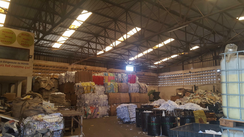 African Global Recycling  à Lomé