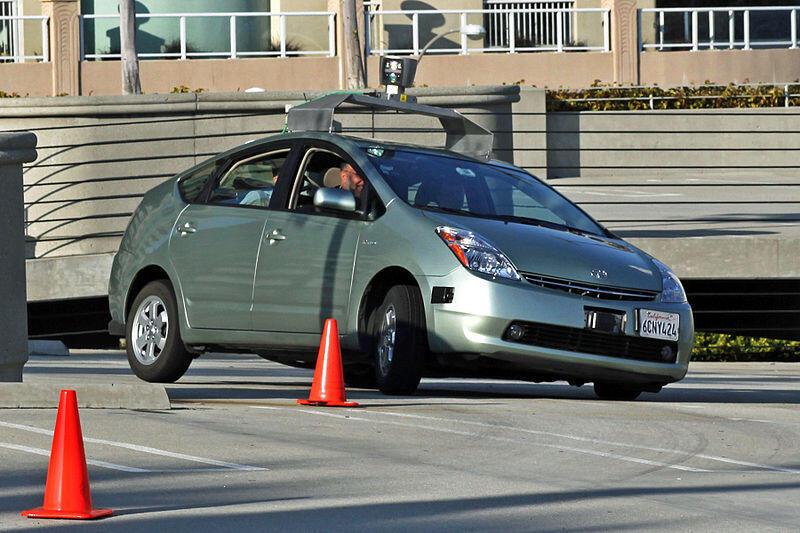 El Toyota Prius de Google.