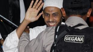 Umar Patek, suspeito de terrorismo nos atentandos de Bali de 2002.