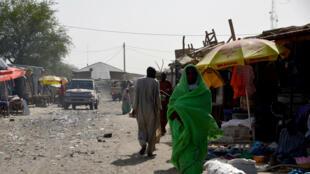 Garin Bosso dake kasar Nijar wadda 'yan kungiyar Boko Haram suka tarwatsa mutanen garin