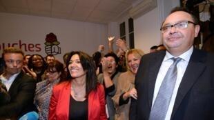 圖為準備競選馬賽市長的法國社會黨候選人Patrick Menucci
