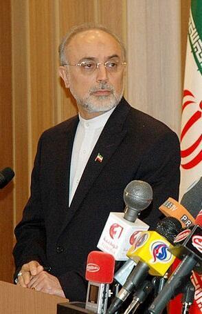 O ministro de relações exteriores iraniano, Ali Akbar Salehi.
