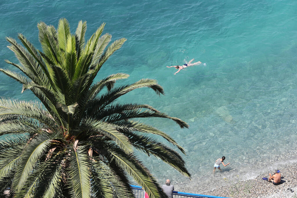 The Promenade des Anglais in Nice.