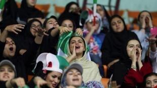 'Yan matan Iran masoya kwallon kafa