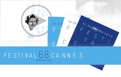 Affiche du 68è festival de Cannes.