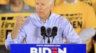 Joe Biden, le 29 avril à Pittsburgh, en Pennsylvanie.