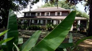 Une vue de l'Habitation Clément, située dans la commune du François, dans l'est de la Martinique.