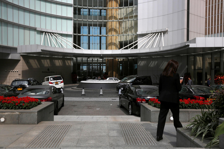 Khách sạn Four Seasons, Hồng Kông, nơi nhà tỷ phú Tiêu Kiến Hoa được nhìn thấy lần cuối ngày 27/01/2017.