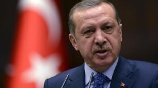 El premier turco Tayyip Erdogan, el pasado 12 de febrero de 2013 en Ankara.