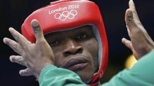Le boxeur camerounais Christian Donfack Adjoufack.