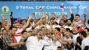 Le club égyptien Zamalek a remporté la Coupe de la Confédération 2018/2019 face à la Renaissance sportive de Berkane.