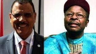 Bazoum Mohammed da abokin takarar sa Mahamane Ousmane