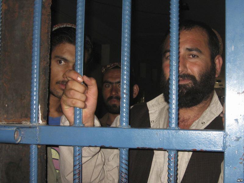 'Yan gidan yarin Bagram a kasar Afghanistan
