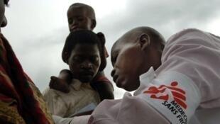 L'épidémie de rougeole touche aujourd'hui toute la RDC.