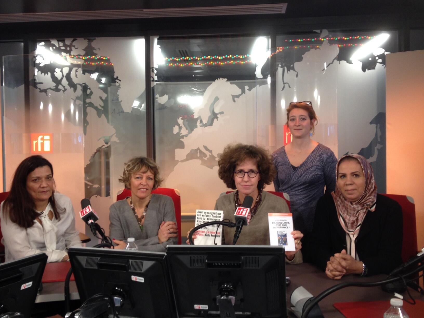 Emmanuelle Bastide et ses invités du jour.