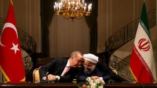 نشست خبری مشترک حسن روحانی و رجب طیب اردوغان در تهران