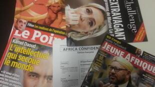 Capas de magazines news franceses de 11 de fevereiro de 2017