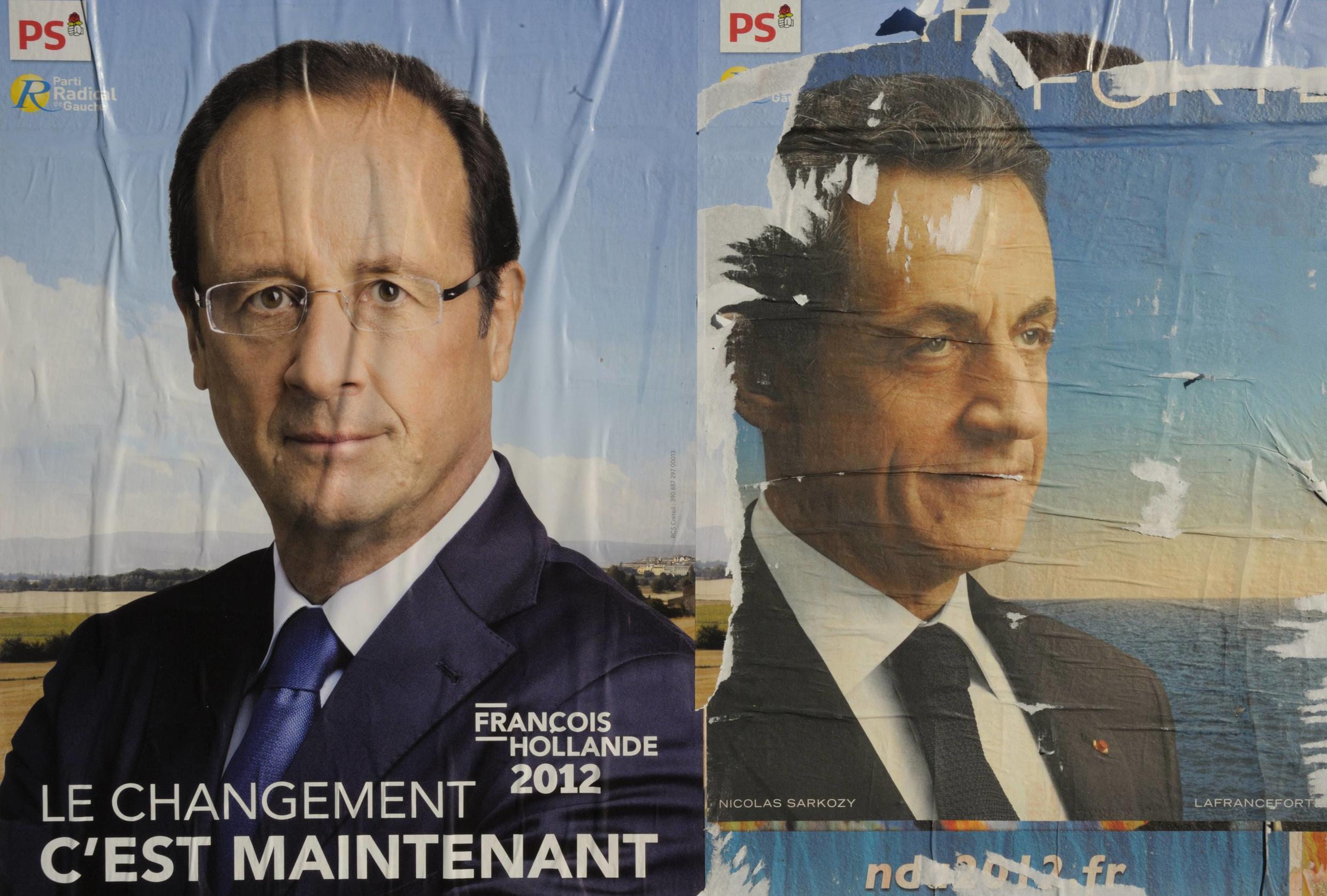 On France 24: Row over exit polls engulfs French presidential election