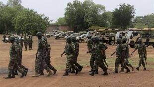 Wanajeshi wasaidizi katika kurejesha utulivu nchini Nigeria.