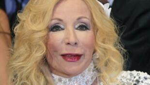 La chanteuse libanaise Sabah, ici en juin 2011, est décédée le 26 novembre 2014, à l'âge de 87 ans.