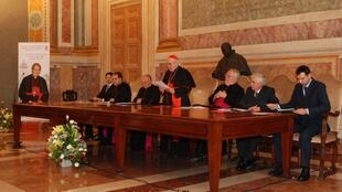Quang cảnh nghi thức mở án phong chân phước ngày 2210/10 tại Roma