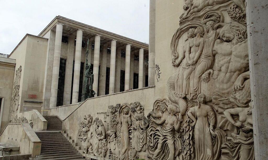 巴黎市立现代艺术博物馆外观。