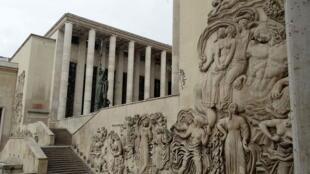 巴黎市立現代藝術博物館外觀。