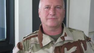 Le Général Lafont-Rapnouil, représentant de la force française antiterroriste Barkhane au Mali.