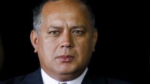 El número dos del gobernante PSUV, Diosdado Cabello, figura en la lista de altos cargos a los que la UE prevé sancionar.