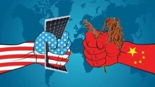 图为中美贸易图片