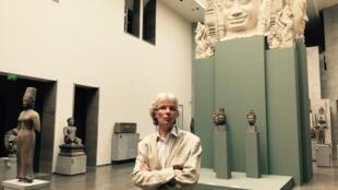 Pierre Baptiste, conservateur en chef au musée Guimet.