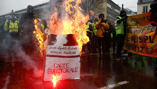 The auditors were unimpressed by Macron's response to the Yellow Vest movement