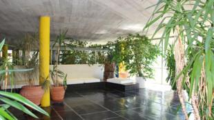 A Sala Lúcio Costa, um Hall de exposição da Casa do Brasil, uma das 37 residências da Cité Universitaire em Paris.