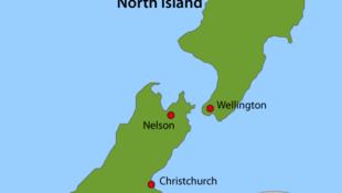 Carte Nouvelle Zélande