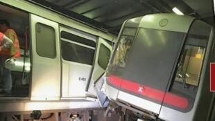 港鐵將地鐵意外責任歸咎法國鐵路訊號商Thales。2019年3月