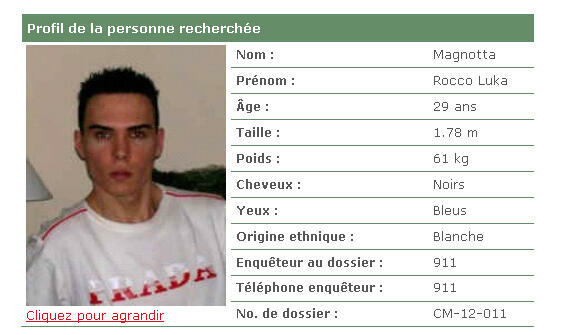 Candian police believe Luka Rocco Magnotta could be in France