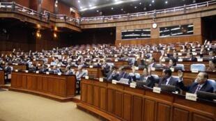L'Assemblée nationale cambodgienne.